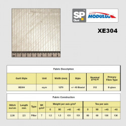 XE304 e-glass biaxial +/-45...