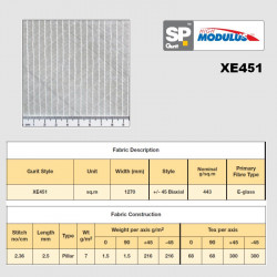 XE451 e-glass biaxial +/-45...