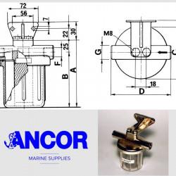 ANCOR CF 3/4 - CA32 Filtro...
