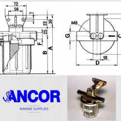 ANCOR CF 3/4 - CA32 Water...