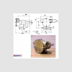 ANCOR PM14 Water Pump STD....