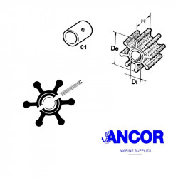 Ancor 2048 impeller - neoprene