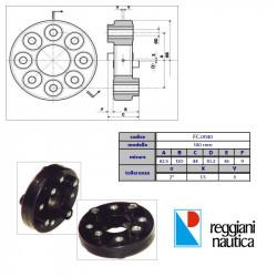 giunto elastico FC.01140