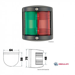 Utility 77  225° red-green...