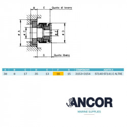 Ancor 2391 - mechanical seal