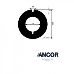 Ancor 2413 wear plate