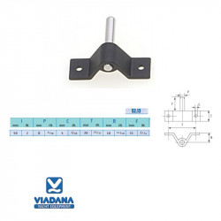 Viadana 52.13  pintle pin Ø8