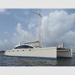DH550 catamarano charter /...
