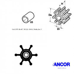 Ancor 2079 impeller