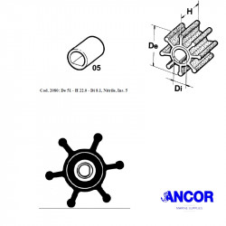 Ancor 2080 impeller