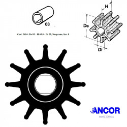 Ancor 2654 impeller