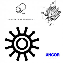 Ancor 2672 impeller