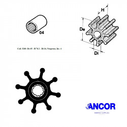 Ancor 3260 impeller