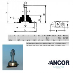 Ancor 2125 - Engine Mount...