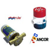 bilge pumps, fresh water pumps
