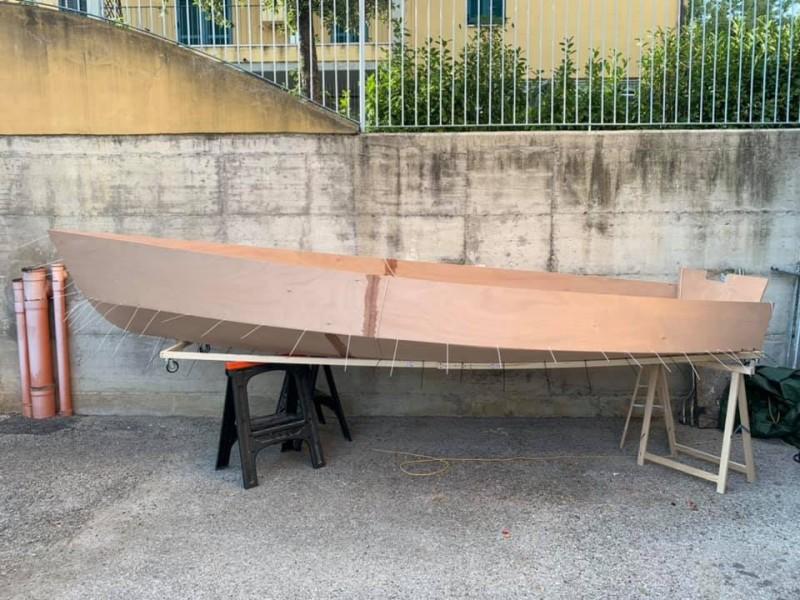 Argie 15 in costruzione  - 1  foto di Giuseppe Mencarelli