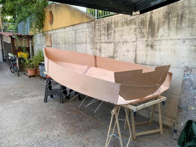 Argie 15 in costruzione  - 2  foto di Giuseppe Mencarelli