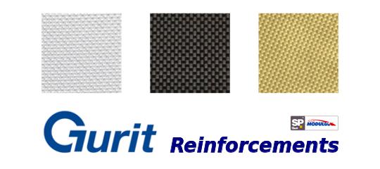 Gurit rinforzi in fibra di vetro, kewlar, carbonio